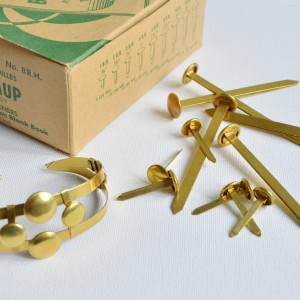 Paper Fasteners to Bracelet