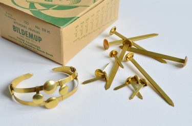 Brass Tacks Bracelet