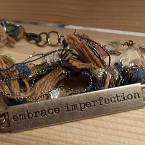 Embrace Imperfection bracelet