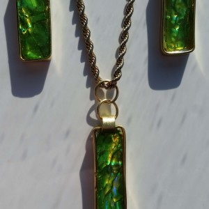 KFisher: Spring Green CD Jewelry 3