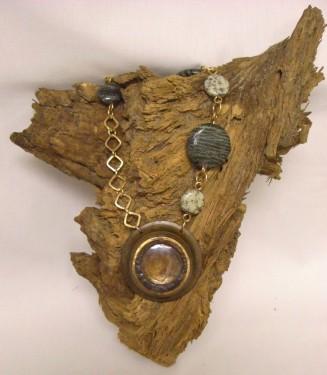 Asymmetrical Sight Glass Necklace