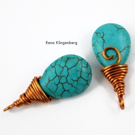 Incredible Briolette Wire Wrapping Techniques Tutorial Jewelry Making Journal Wiring Database Xlexigelartorg