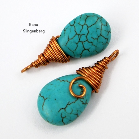 Briolette Wire Wrapping Techniques (Tutorial)