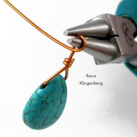 Pleasing Briolette Wire Wrapping Techniques Tutorial Jewelry Making Journal Wiring Database Xlexigelartorg
