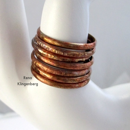 Rustic Adjustable Stacking Rings (Tutorial)