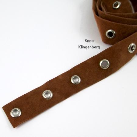 Fita isolante para pulseira de embrulho de anel - Tutorial de Rena Klingenberg