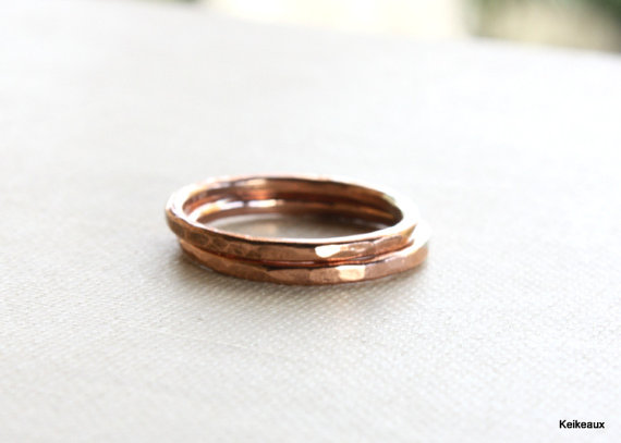 Minimalist Jewelry in Copper