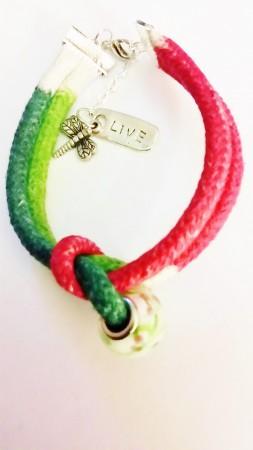 JMalcom: Colored By Hand Cord Bracelets 2