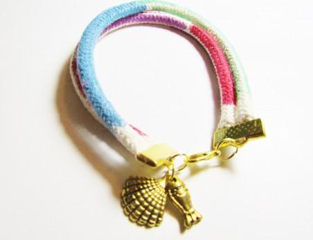 JMalcom: Colored By Hand Cord Bracelets 3