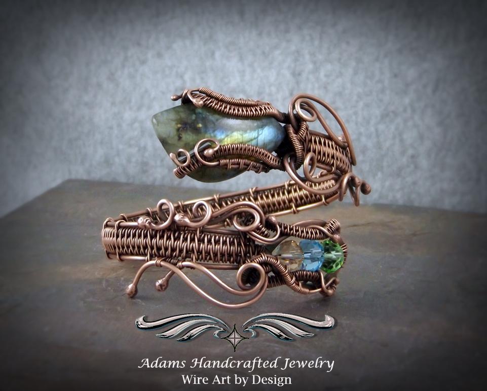 Cuff Coil 'Snake Charmer' Bracelets