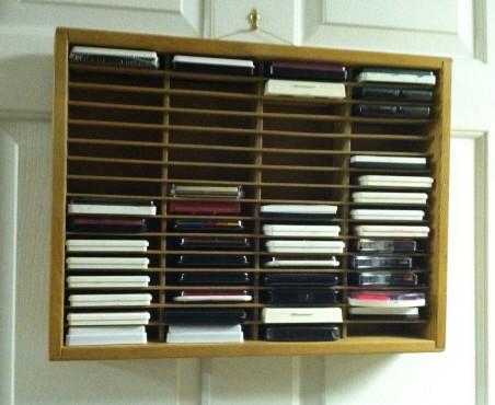 Cassette Tape Rack for Storage