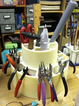 Jewelry Tool Carousel Storage