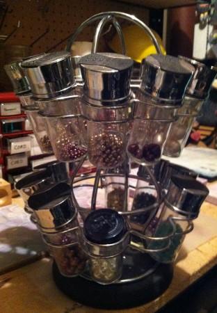 Spice Rack for Storage