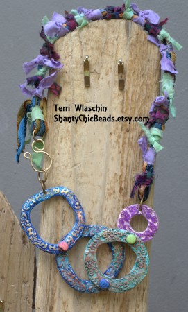 TWlaschin: Bohemian Starseed Mixed Media Jewelry 3