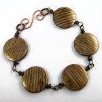 Messy Wire Wrap Bead Chain Bracelet - Tutorial by Rena Klingenberg