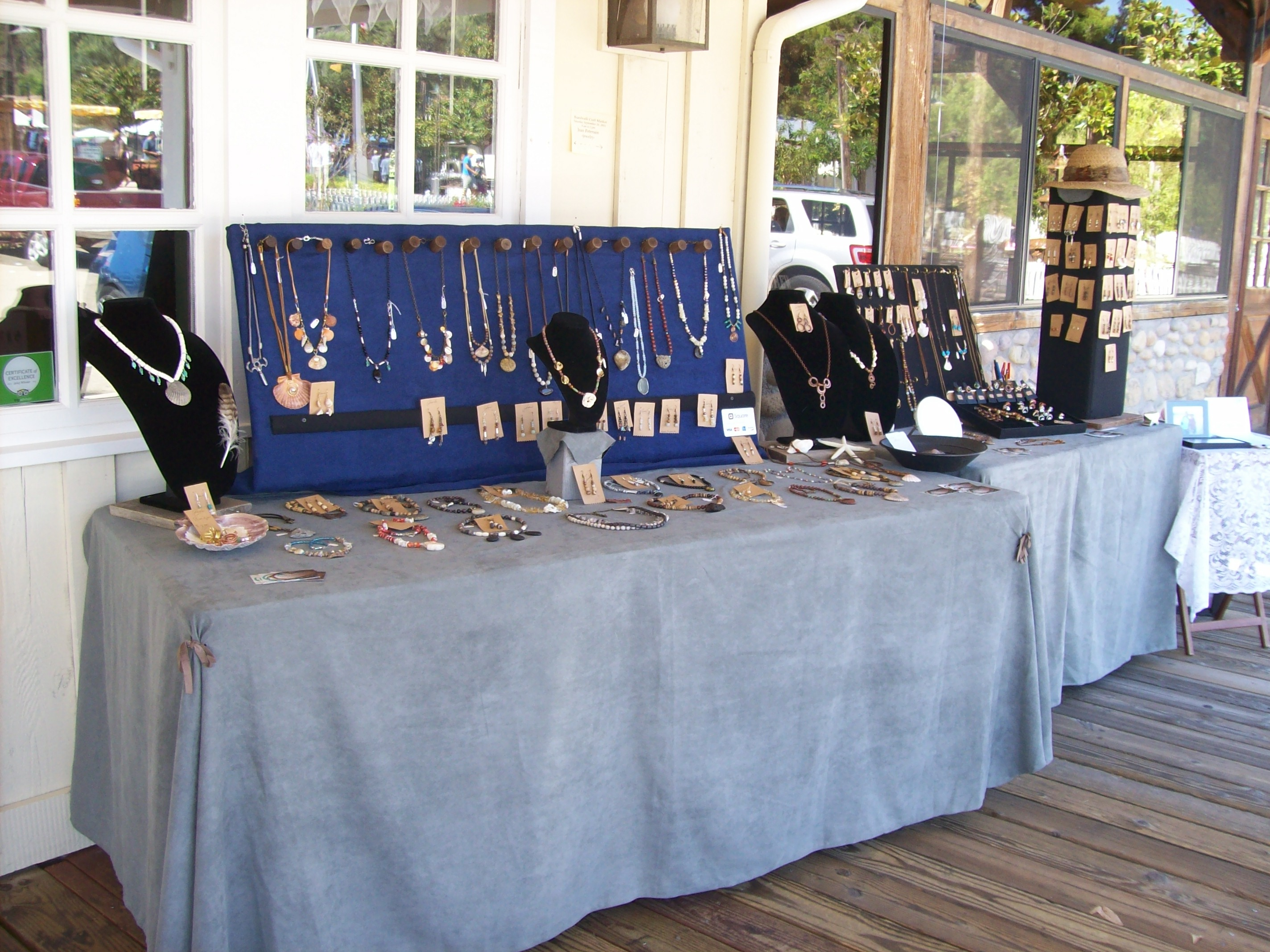 My Jewelry Booth Display: A Work in Progress