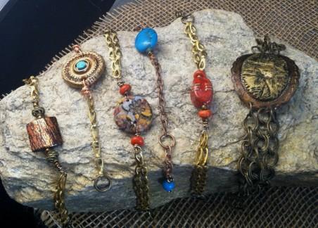 Stone Bracelet Display