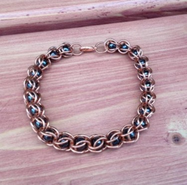 Magnetic and Copper Bead Capture Bracelet