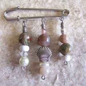 Beaded Sweater & Shawl Pins