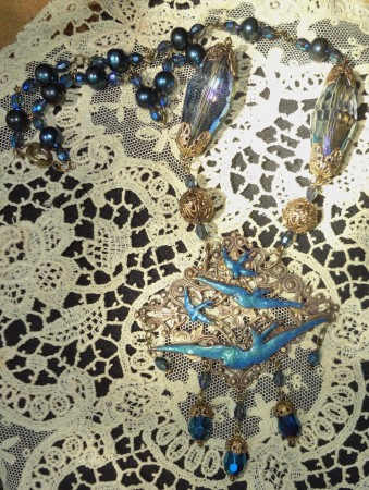 DLowe: Flock of Swallows Necklace 2