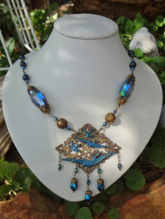 DLowe: Flock of Swallows Necklace 1