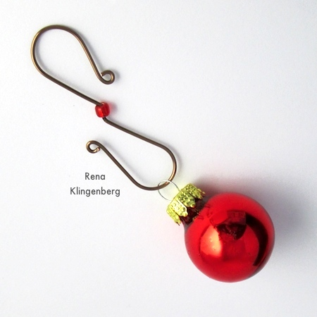 Easy Christmas Ornament Hooks Tutorial Jewelry Making Journal