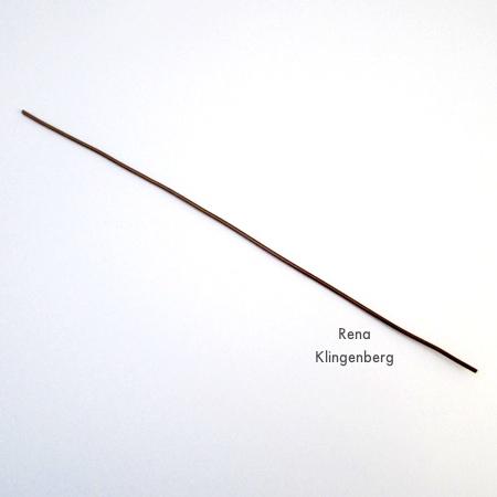 Corte o fio para ganchos fáceis de enfeite de Natal - Tutorial de Rena Klingenberg