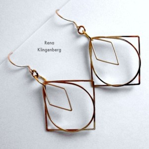 Loops & Hoops Earrings (Tutorial)