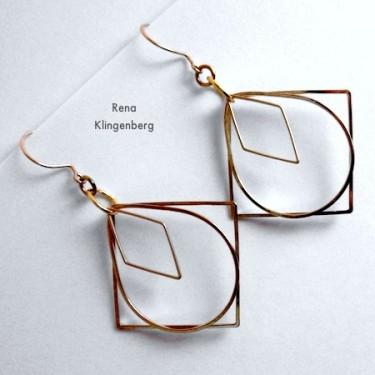 Loops & Hoops Earrings (Tutorial)