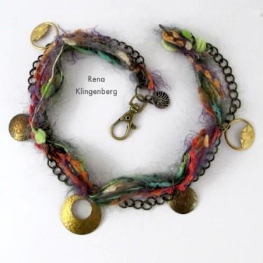 Mixed Media Gypsy Necklace (Tutorial)