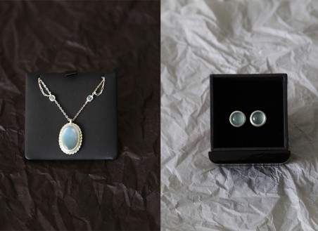 Moonstone Jewelry Sets by Chuang Yu  - featured on Jewelry Making Journal