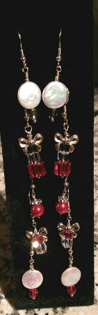 More Holiday Earrings by Chris Rehkop  - featured on Jewelry Making Journal