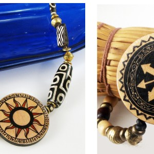 Create Unique Wood Jewelry with Decals