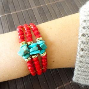 Turquoise Beaded Bracelets!