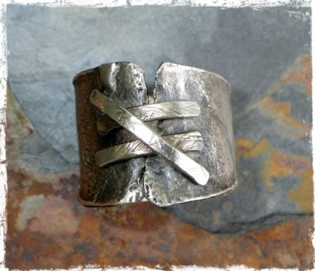 """""""Shattered"""" Ring by Janice Root  - featured on Jewelry Making Journal"""