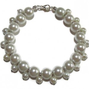 Delicate Faux Pearl Jewelry