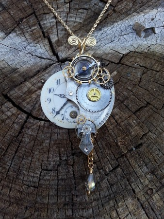 How to Attach Tiny Parts to a Vintage Partial Pocket Watch Movement? Discussion on Jewelry Making Journal