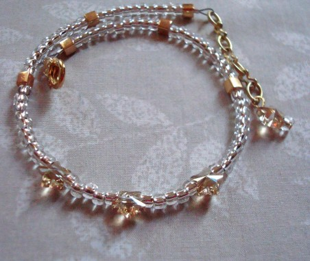 Easy Adjustable Anklets, by Kathy Zee  - featured on Jewelry Making Journal