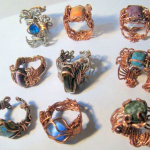 Heavy Gauge Wire Jewelry