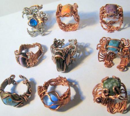 Heavy Gauge Wire Jewelry by Edd Nelson  - featured on Jewelry Making Journal