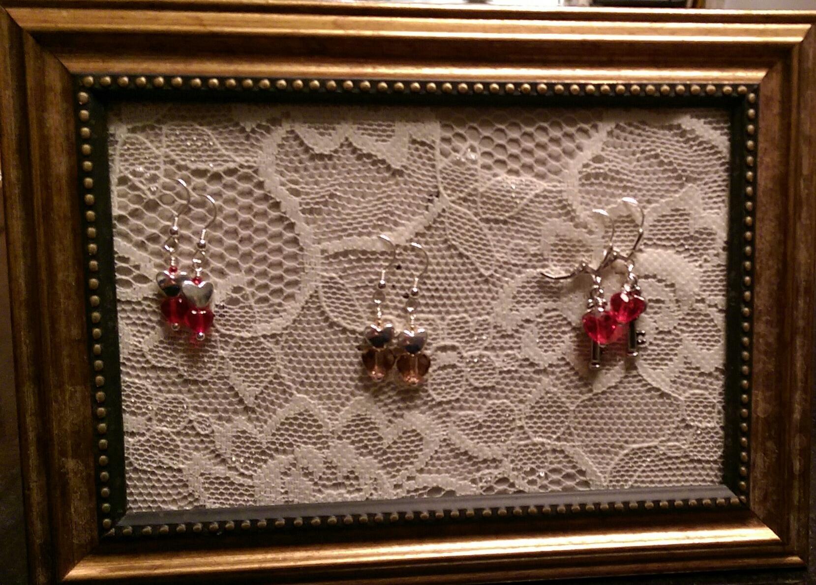 Valentine Earring Trio