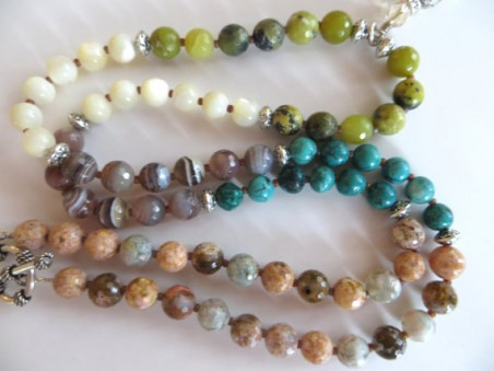 Sari Silk Tassel Necklace by Holly Louen  - featured on Jewelry Making Journal