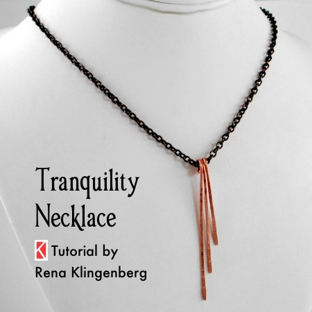Tranquility Necklace - Tutorial by Rena Klingenberg
