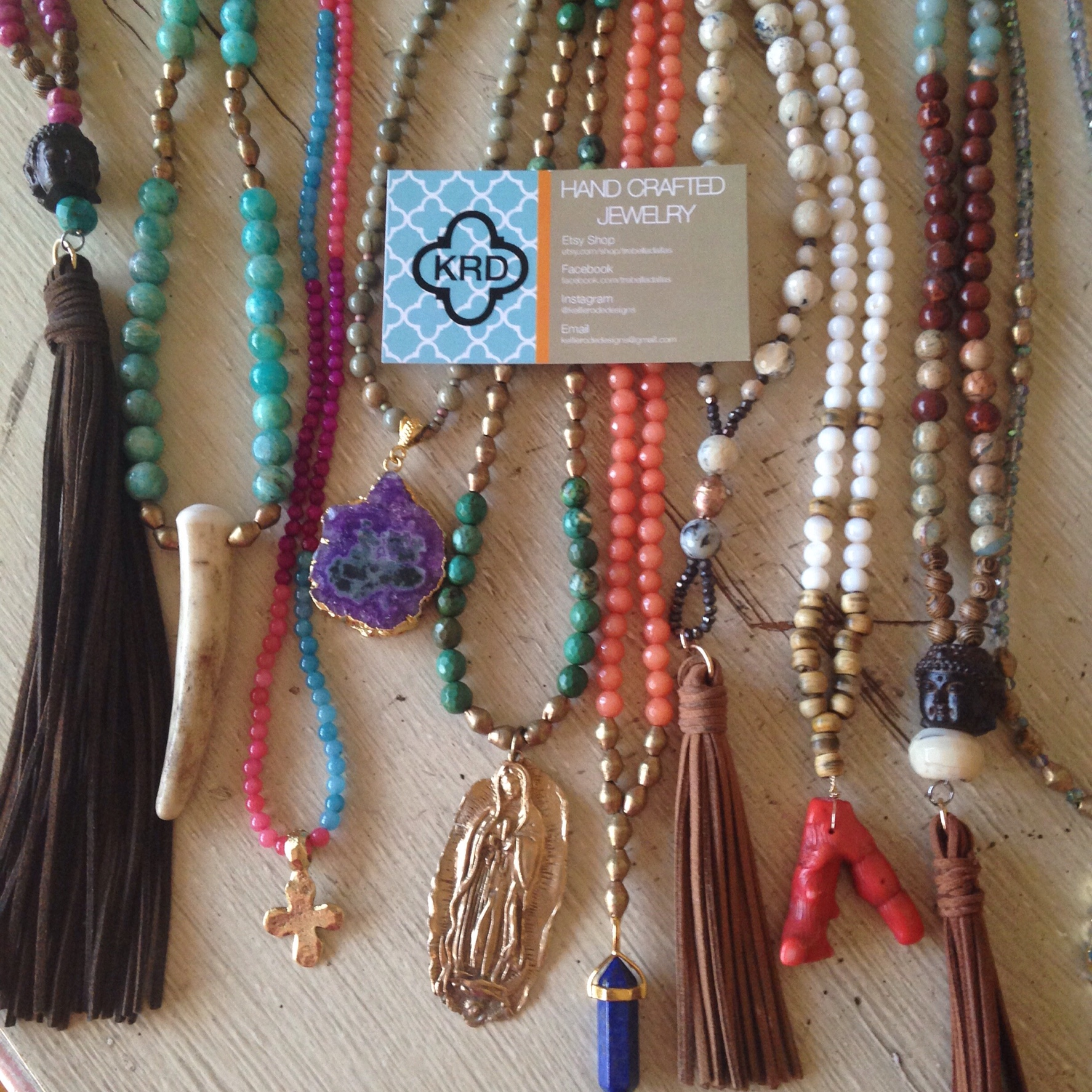 Long Tassel / Pendant Necklaces