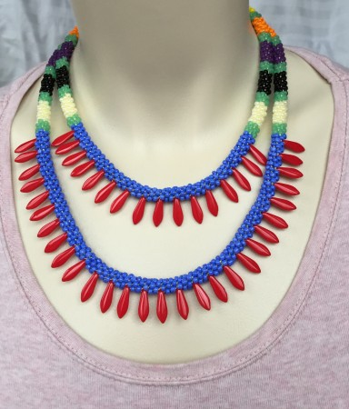 Kumihimo artistry by Julia Zimmerman  - featured on Jewelry Making Journal