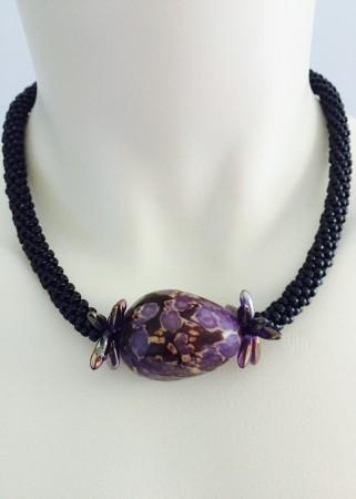 Kunihimo artistry by Julia Zimmerman  - featured on Jewelry Making Journal