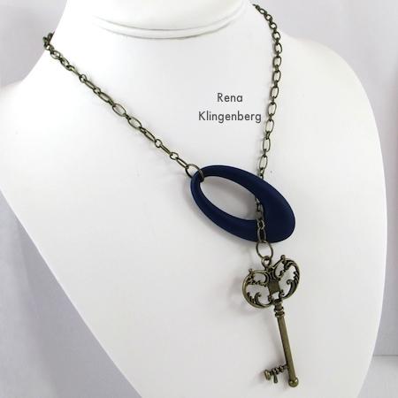 Como usar um colar de laço - Diversão com colares de laço - Tutorial de Rena Klingenberg