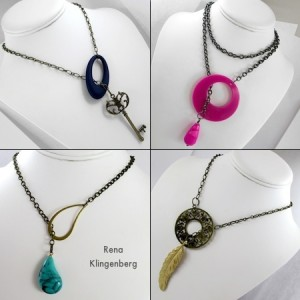 Fun with Lariat Necklaces!  (Tutorial)