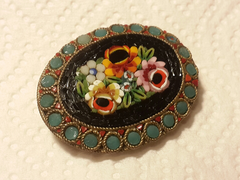 How to Turn This Brooch into a Bracelet without Making a Hole in It?