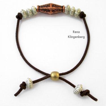 Adjustable Cord Bracelet (Tutorial)